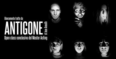 Studio su Antigone. Open class conclusiva del Master acting.