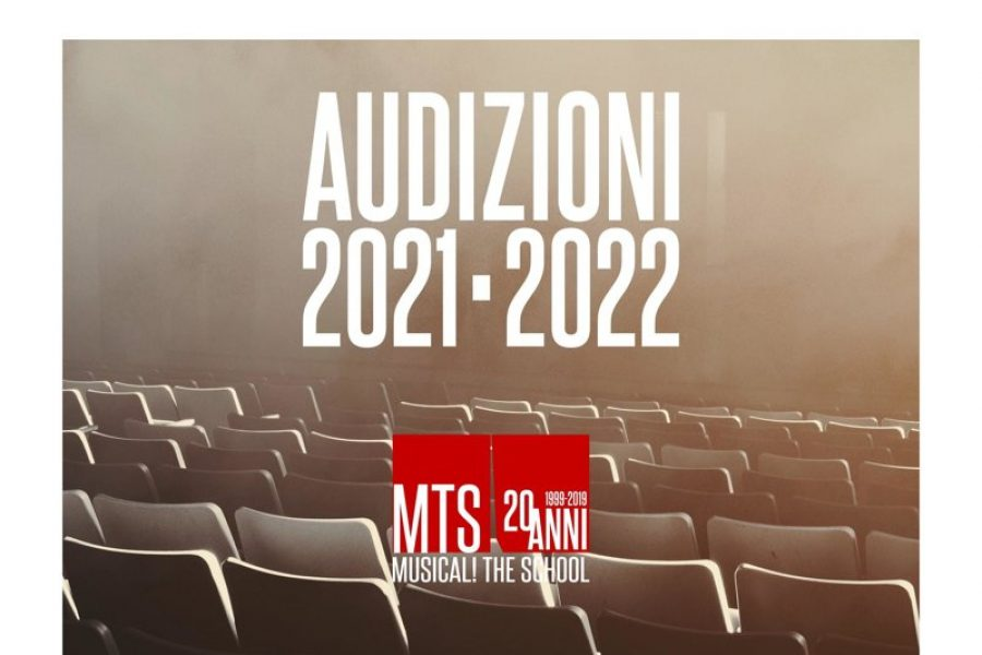 AUDIZIONI ONLINE SCUOLA DI MUSICAL A.A. 2021-2022 FEBBRAIO 2021